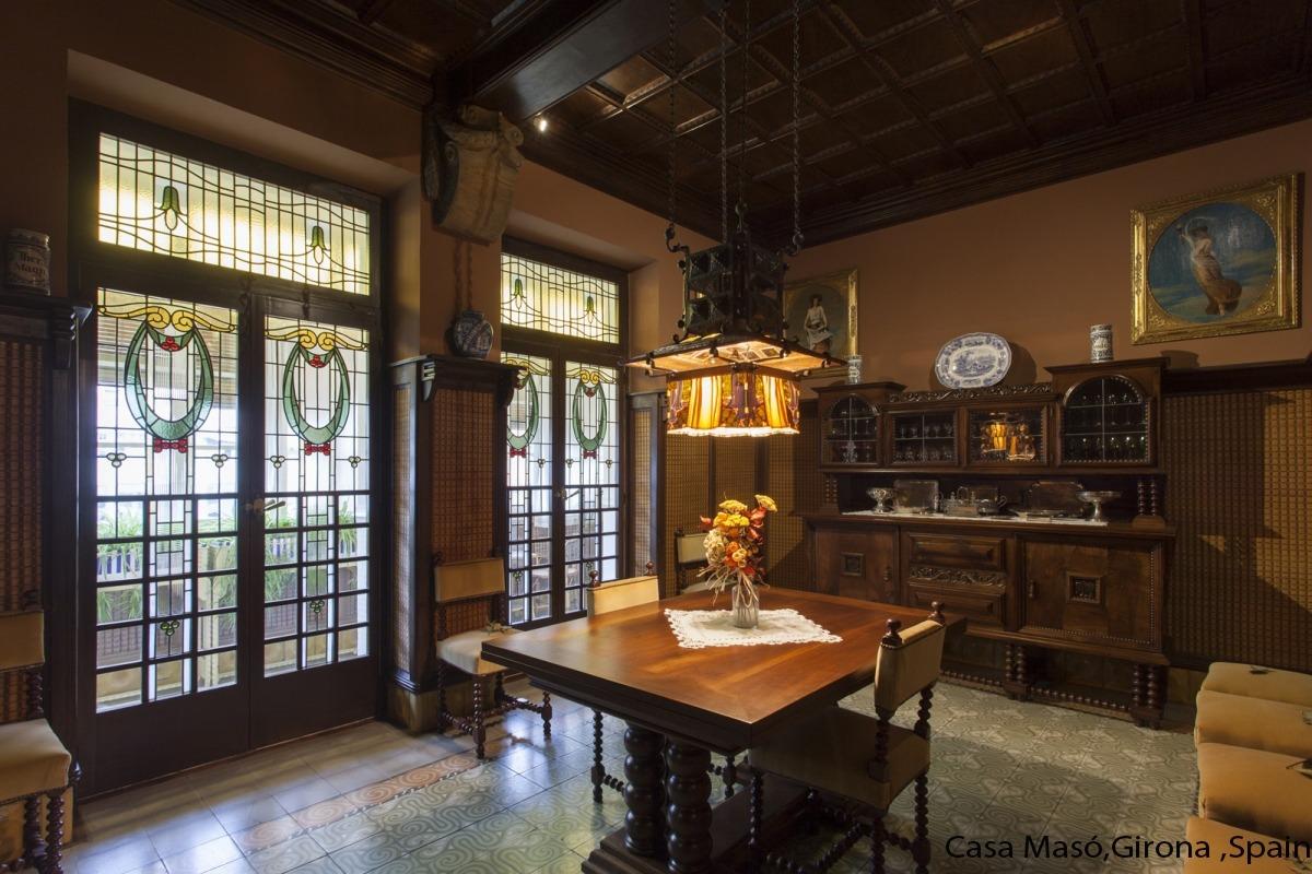 Casa Masó Dining room