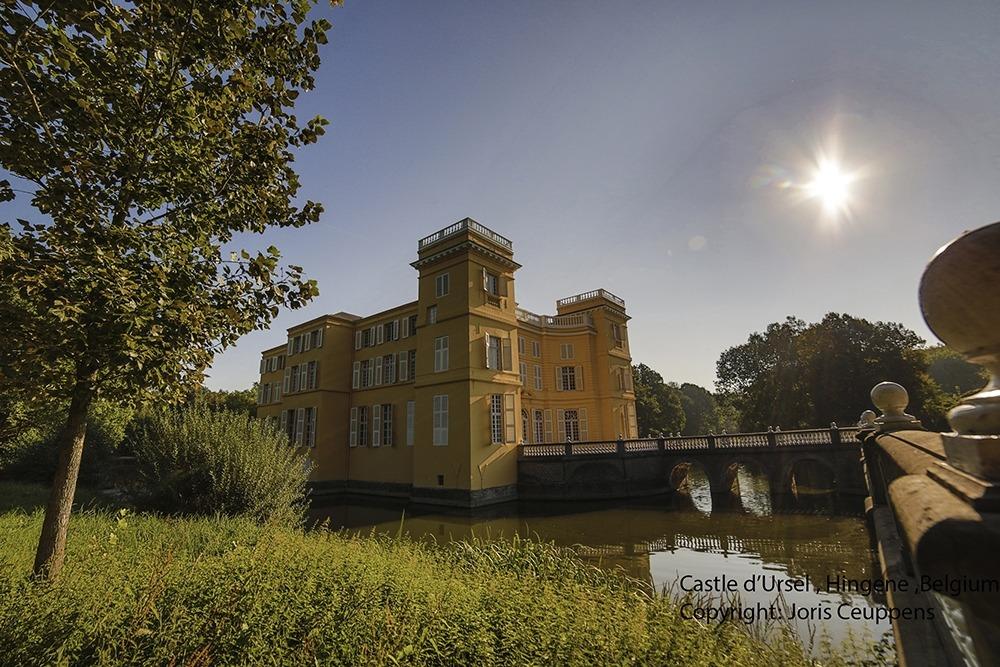 Castle d' Ursel Zijzicht zon copyright Joris Ceuppens (2)_f