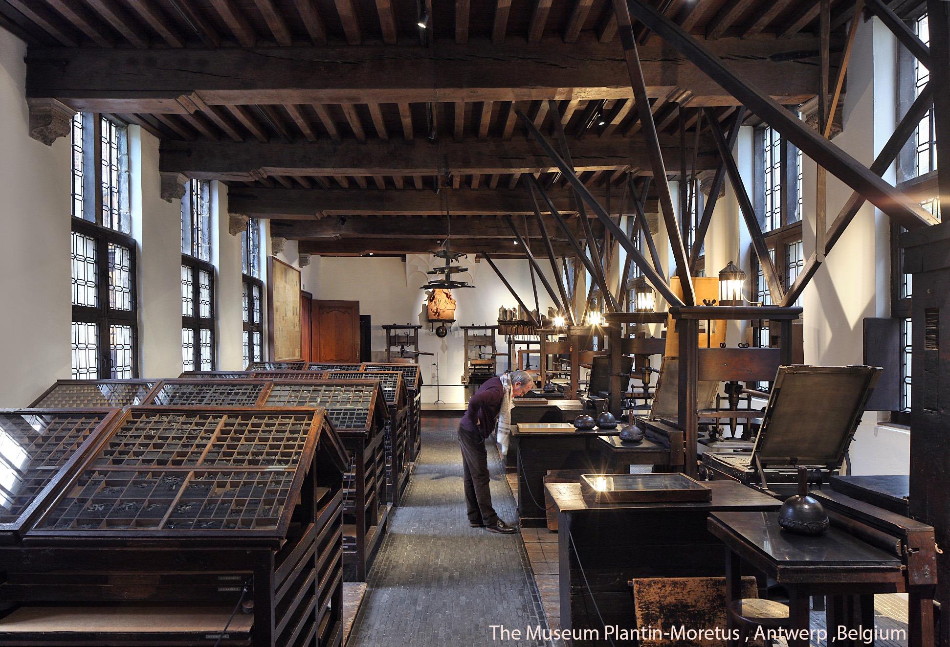MuseumPlantinMoretus_PrintingRoom