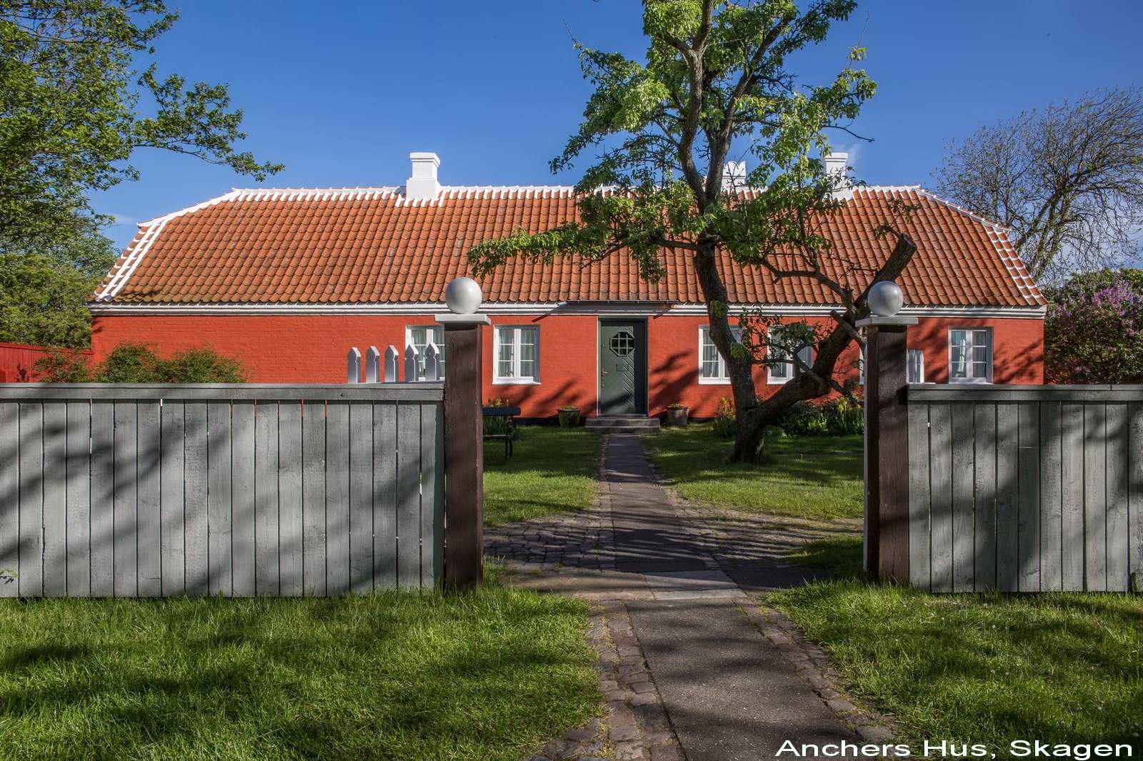 Anchers Hus - Facaden mod Markvej