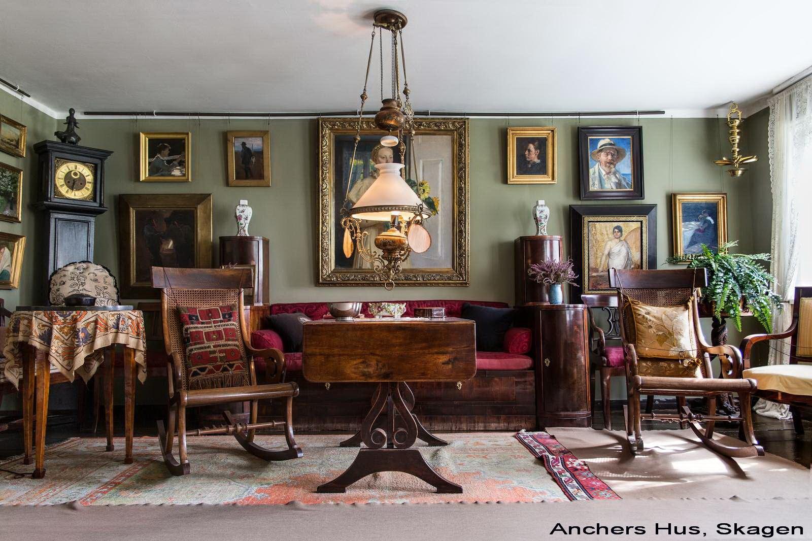 Anchers Hus -Den vestre stue